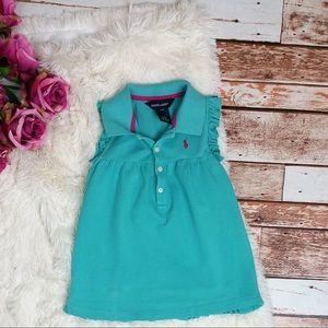 Ralph Lauren Toddle Ruffle Polo Dress